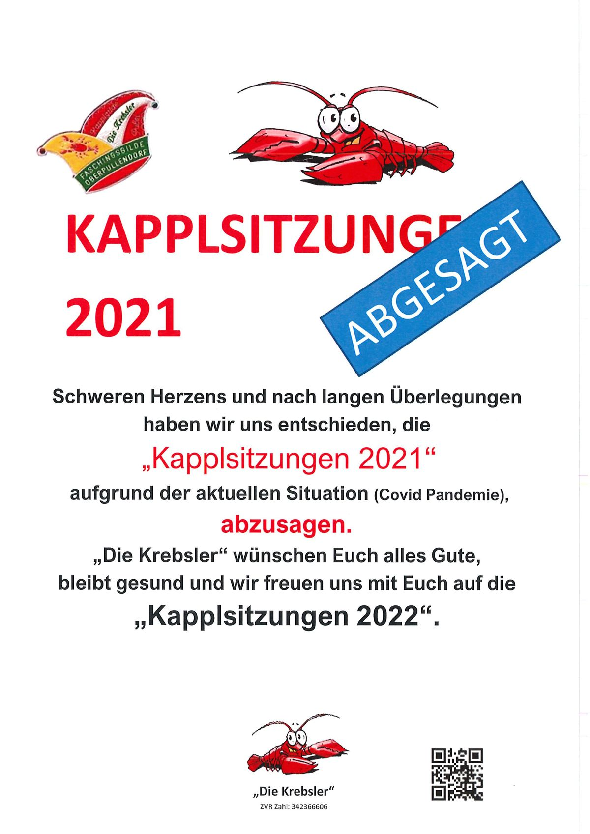 Absage 2021